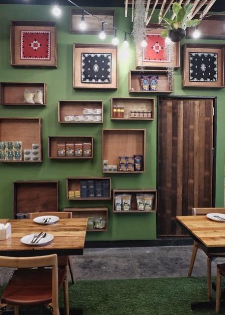 Inside Earth Kitchen BGC
