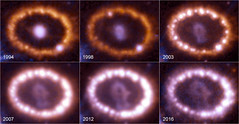 The evolution of SN 1987A