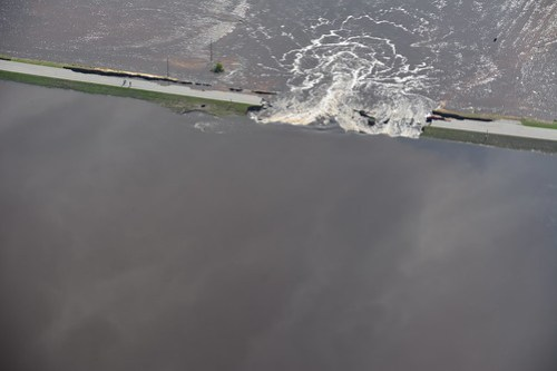 Highway 301 Flooding Aerial