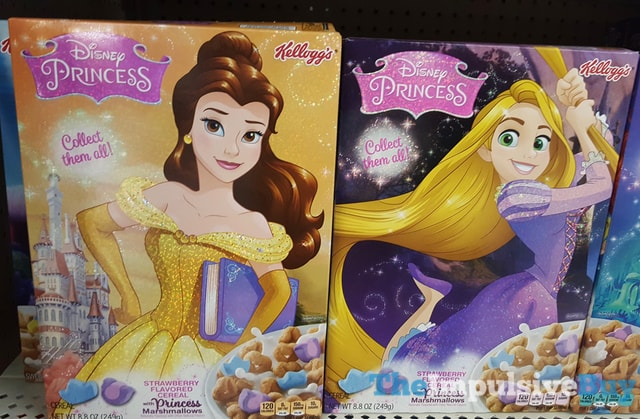 Kellogg's Disney Princess Cereal 1