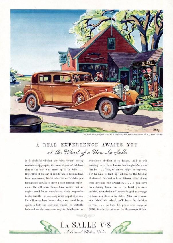 1933 LaSalle Town Sedan