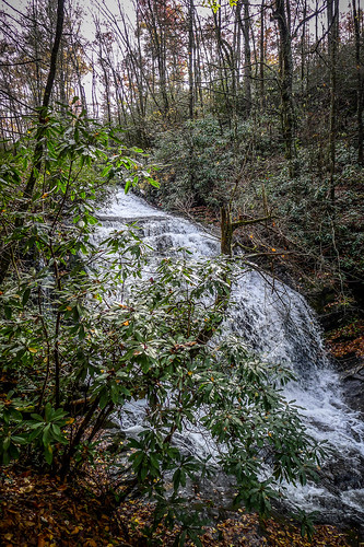 Cascade Lake Road Waterfall-002