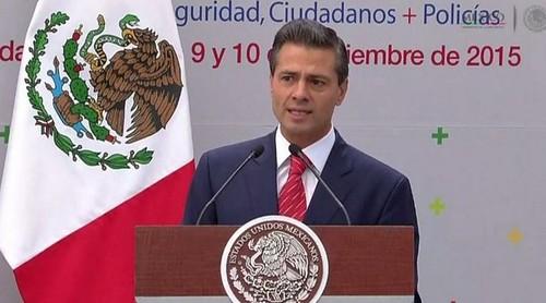 Indeseable legalizar la mariguana: Peña Nieto