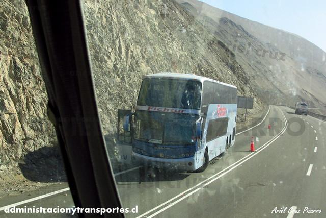 Nueva Fichtur Vip (Pullman Bus) - Cuesta Camarones - Busscar Panorâmico DD / Volvo (BDYH19) (1613)