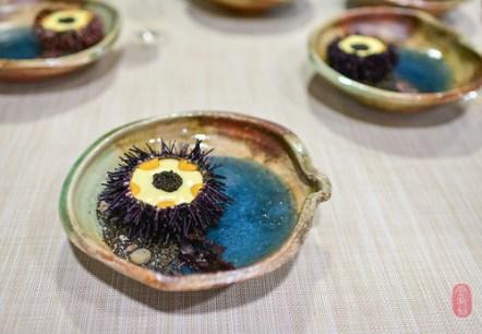 1st Course: Sea Urchin from the Sonoma Coast