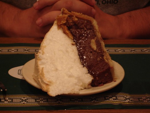 Chocolate Pie, Crystal Grill, Greenville MS