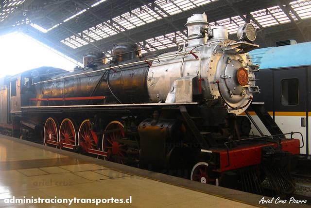 DPC2013 - Estación Central - Locomotora 851