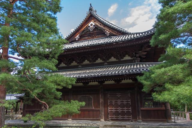 Daitoku-ji Temple in Kyoto, Japan