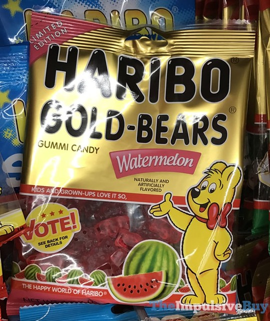 Limited Edition Haribo Gold-Bears Watermelon