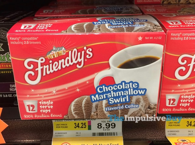 Friendly's Chocolate Marshmallow Swirl K-Cup