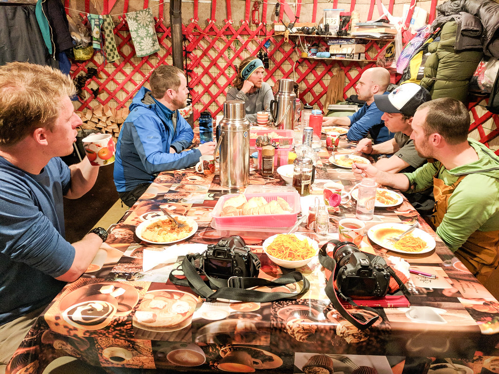 Ak-Suu dining yurt