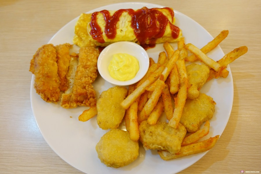 [八德美食]大成早午餐Brunch~大成國小附近的早午餐店.價格便宜吃得到健康的美味餐點 @VIVIYU小世界