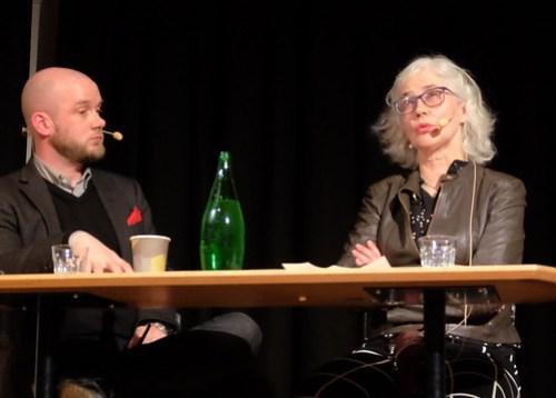 Lars Anders Johansson och Marika Lagercrantz