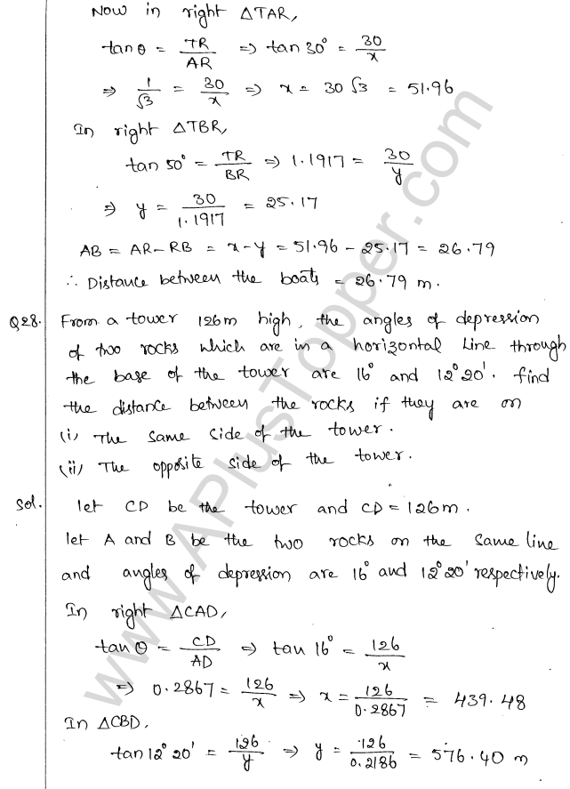 ml-aggarwal-icse-solutions-for-class-10-maths-chapter-21-heights-and-distances-29