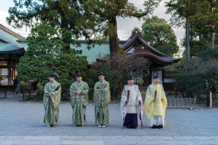 Shinto Priests @ Kamakura Shrine