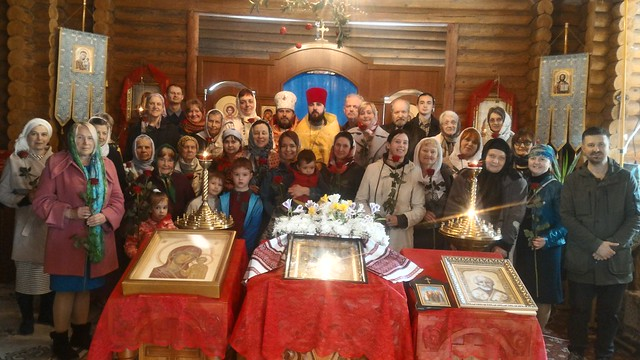2018 04 22 Sunday of Myrrh-bearing Women. Group photo. Жён-мироносиц