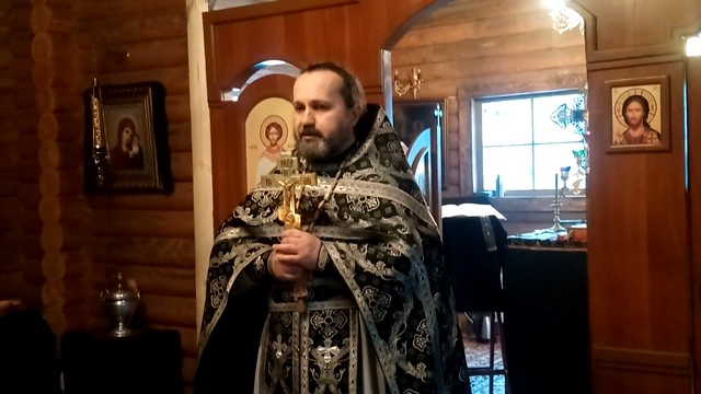 Середина Великого поста: Проповедь настоятеля храма