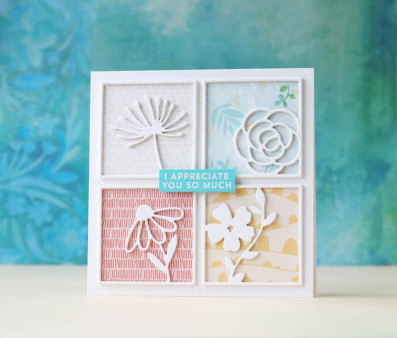 Pinkfresh Studio-Floral Squares
