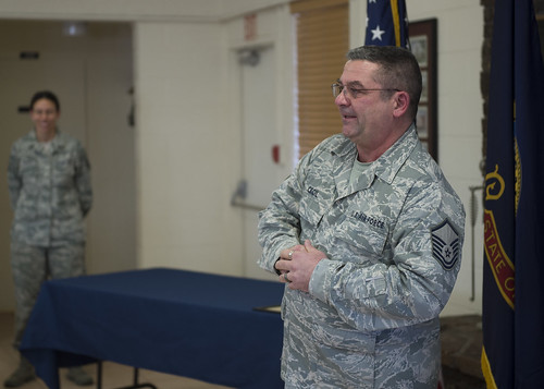 MSgt Cecil Retirement