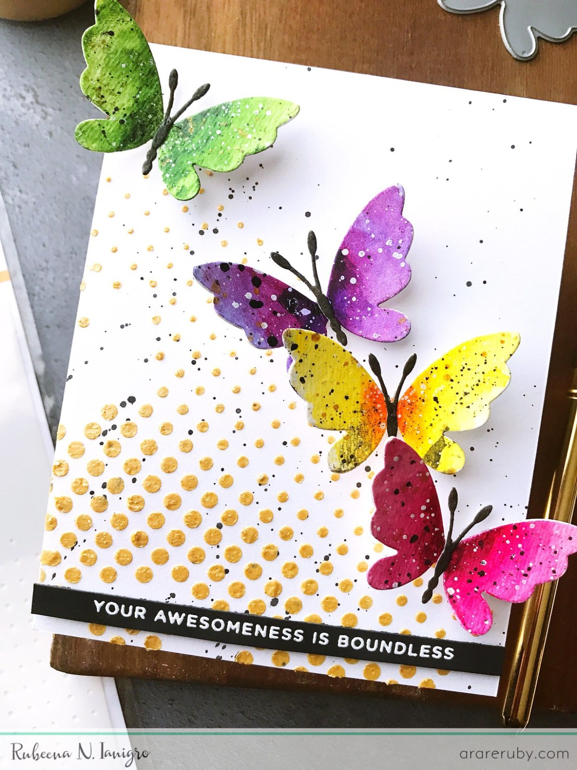 SSS Fluttering By Cards