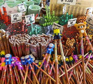 Children's chopsticks, China Town, Singapore