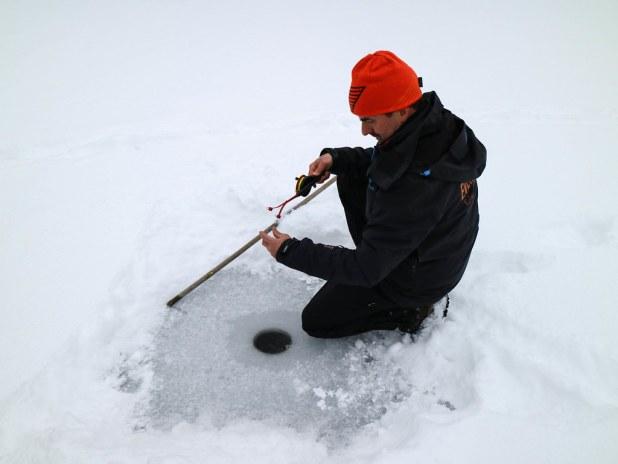 Pesca en el Parque Nacional de Nuuksio