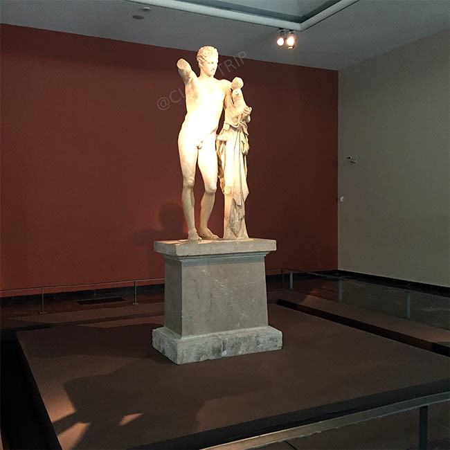 Hermes de Praxíteles | Museo de Olimpia | Grecia