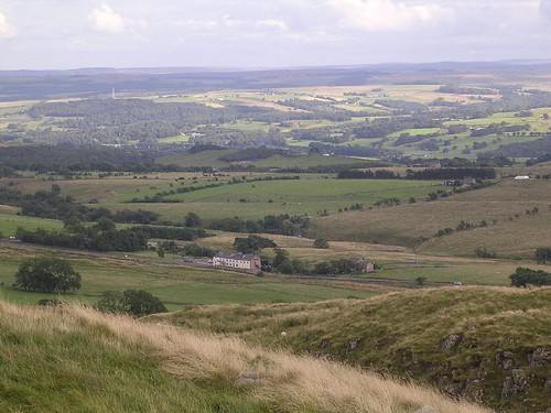 The view south from near Milecastle 40