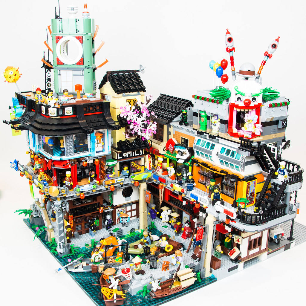 Ninjago City harbour