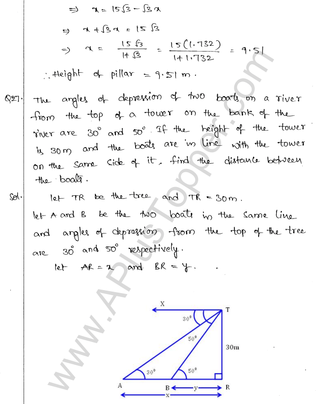 ml-aggarwal-icse-solutions-for-class-10-maths-chapter-21-heights-and-distances-28