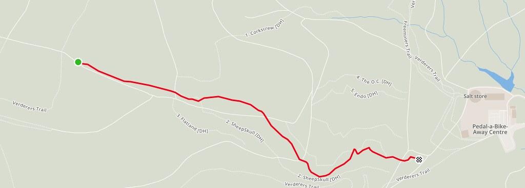 SkiRun Map