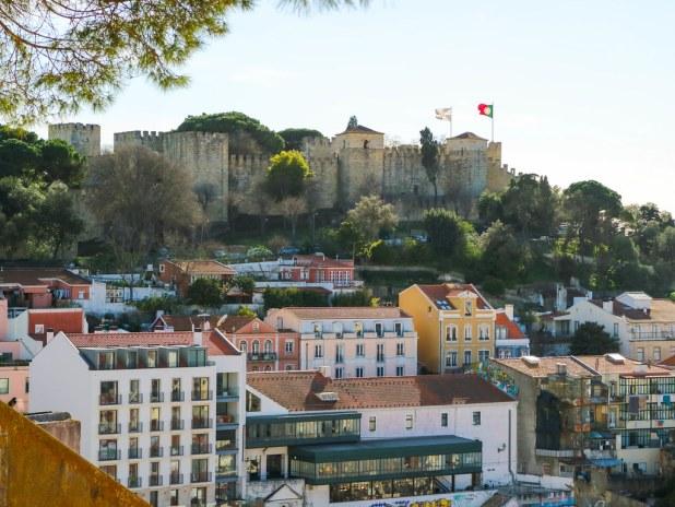 Castillo San Jorge en Lisboa