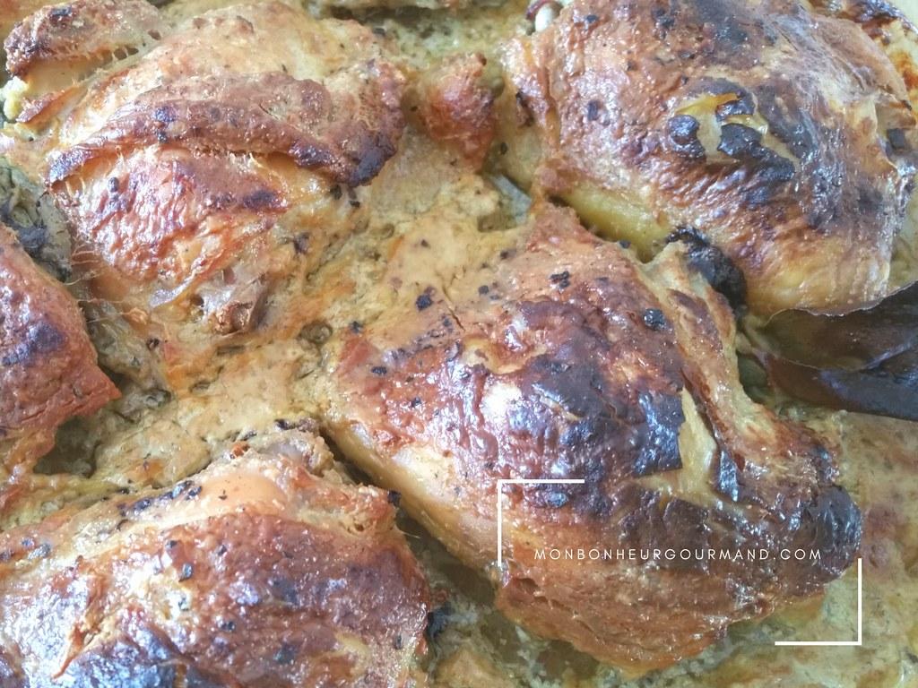 poulet coco-paprika