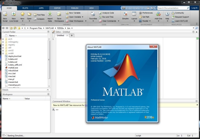 Working with MathWorks MATLAB R2018a full license