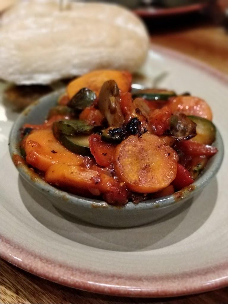 Nandos Hazyview Burger Restaurant Vegetables