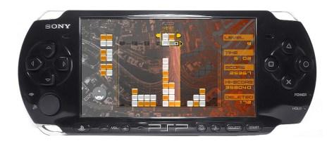 Lumines on PSP