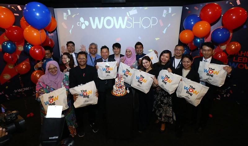 CJ WOW SHOP Raikan Ulang Tahun Kedua