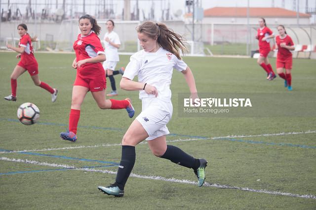 Sevilla FC 7-0 AD Estilo de Fútbol de Utrera (2ª Andaluza Femenina Infantil