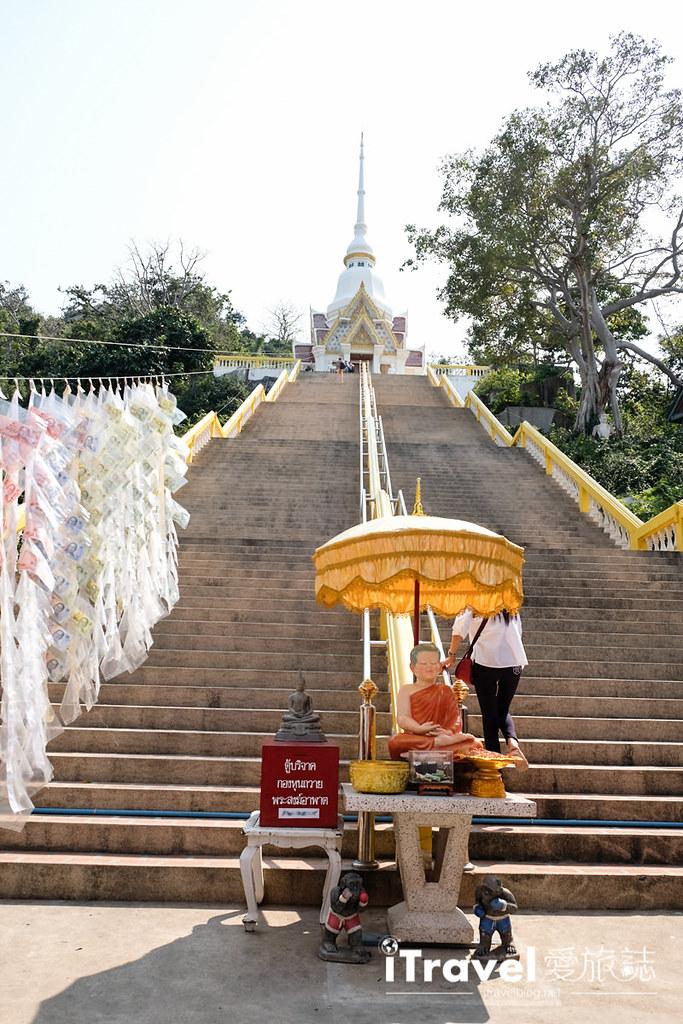 华欣景点推荐 考佬寺Wat Khao Takiap (9)