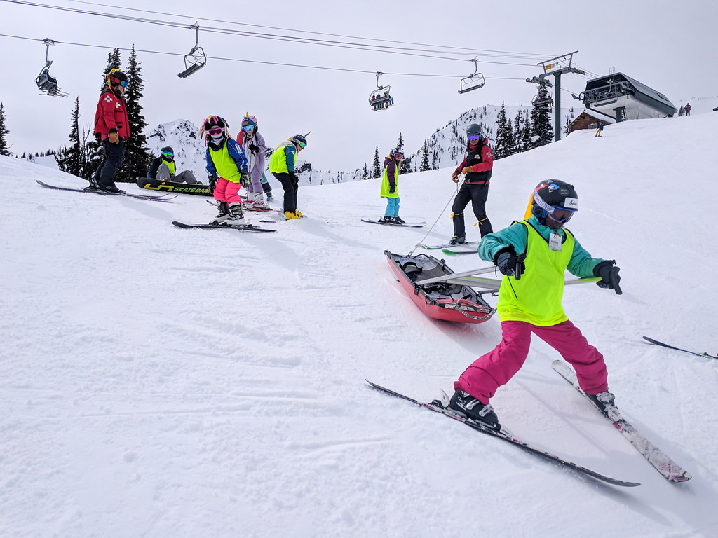 Jr. Ski Patrol Today - SheJumps Wild Skills