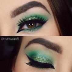 Best Ideas For Makeup Tutorials : 21 St. Patrick's Day Makeup Looks > CherryCherryBeaut…