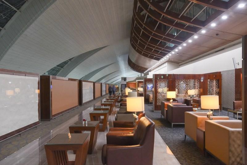 emirates business class lounge dubai concourse b