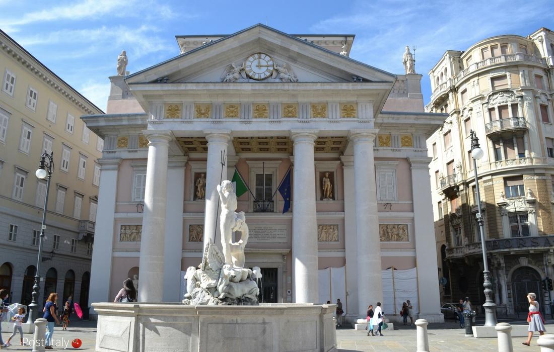 Piazza Unità d´Italia em Trieste