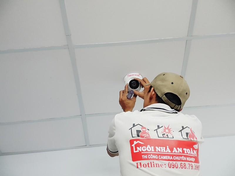 Thi công camera nhà xưởng quận 7