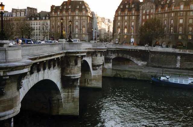 Pont Neuf, Paris France 1984