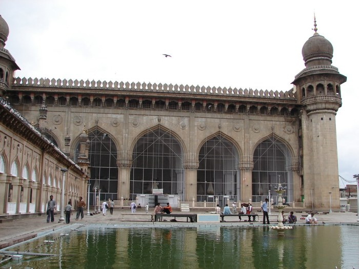Hyderabad - Mecca Masjid, Moments of Peace and Tranquility-Mecca Masjid Hyderabad
