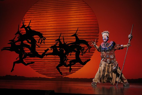 Mukelisiwe Goba as Rafiki. From We Just Can't Wait...Why You Need to See the Lion King On Tour