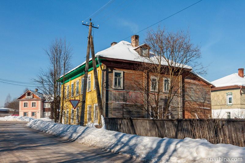 Деревянный дом, Солигалич