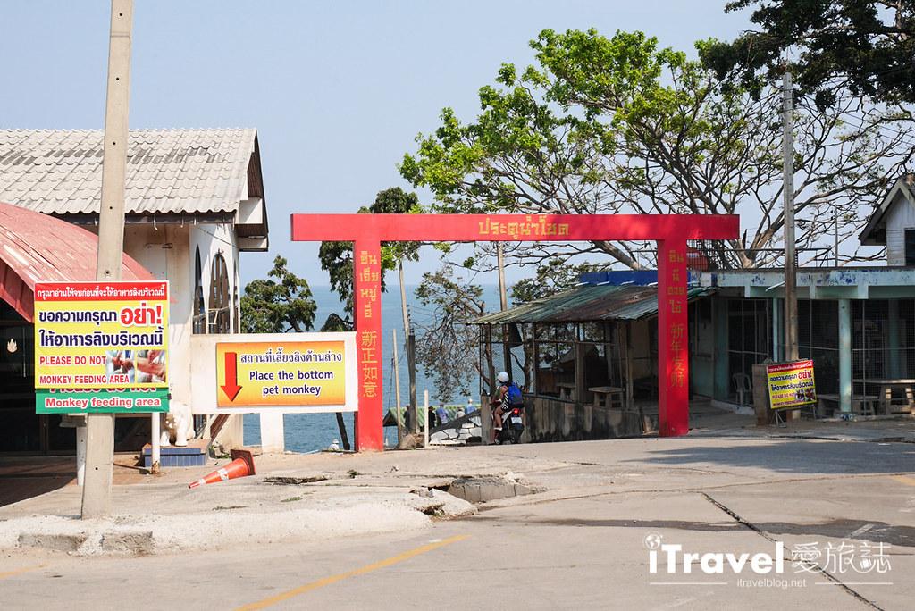 華欣景點推薦 考佬寺Wat Khao Takiap (27)