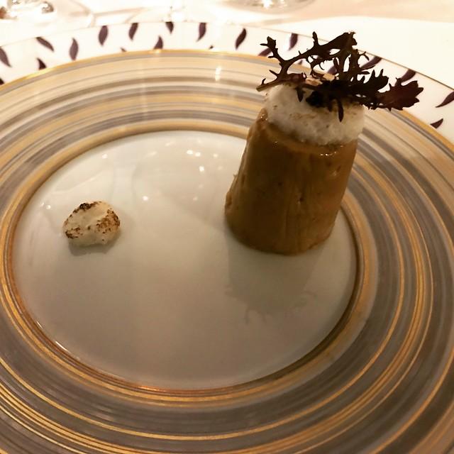 Foie gras glacé aux Blancs montés - la chapelle Saint-Martin
